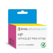 Cartuchos de TINTA COMPATIBLE para HP OfficeJet Pro K7100 Tricolor Nº343, C8766