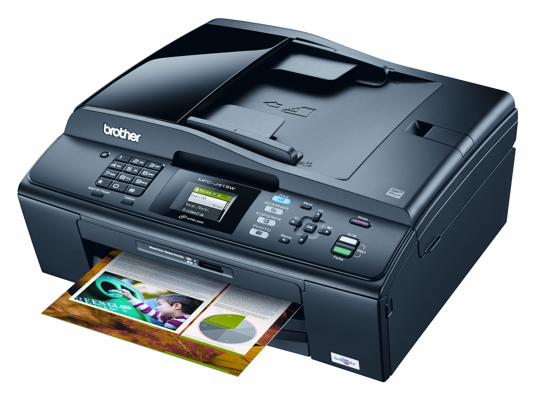 Brother MFC-425CN Printer Fax Windows 8